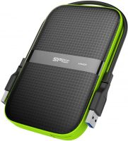 Silicon Power 2TB Portable External Hard Drive For PC and Mac (SP020TBPHDA60S3KEU)