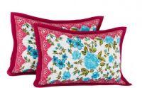 Flipkart SmartBuy Floral Cushions & Pillows Cover(Pack of 2, 44 cm*66 cm, Pink)