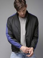 [Size L] HERE&NOWFull Sleeve Colorblock Men Jacket