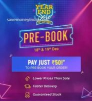 [21-23 Dec]Flipkart Year End Sale & Get Extra Discount