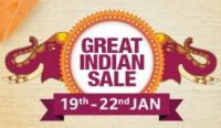 Great Indian Sale From 19th - 22nd Jan