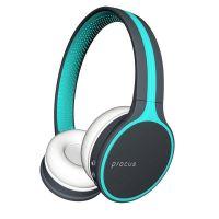 Procus Urban Bluetooth Headphones (On-Ear Wireless) Hi Bass, with Microphone (Mobile/PC/TV) Blue