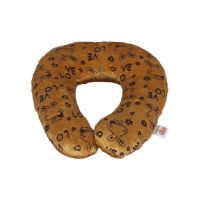 Ultra Baby Neck Cushion Pillow, Brown (9 inch)