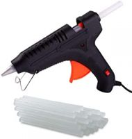 Uspech 40 W 7mm Glue Gun with ON Off Switch and LED Indicator (Multi Color & Free 5 Transparent Glue Sticks)