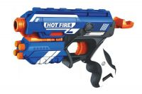 TOY-STATION Blaze Storm Toys with Soft Child Safe Bullets (Foam Blaster Gun Toy, Safe & Long Range-10 Bullets)