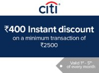 [Upcoming] Get Rs.400 Instant Discount on Rs. 2500 Grocery Purchase using Citi Credit & Debit Cards at BigBasket