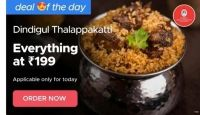 [Specific Pindcodes] All Items At Rs.199 on Dindigul Thalappakatti