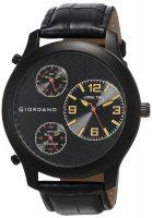 GIORDANO Analog Black Dial Men's Multi Time Watch - 60068 TTM