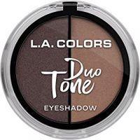 L.A. Colors Duo Tone Eyeshadow, Last Night, 4.5g