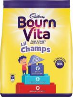 Cadbury Bournvita Little Champs Health Drink Nutrition Drink  (500 g, Chocolate Flavored)