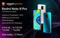 [Sale on 12PM] Redmi Note 9 Pro