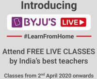 BYJU'S Free Live Classes -  Learn From Home with India's Best Teachers