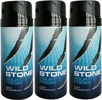 Wild Stone Deo Aqua Fresh (Pack Of 3)