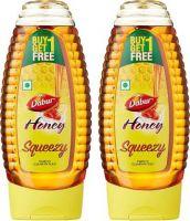 Dabur Honey Squeezy  - India's No.1 Honey - 400 g (Buy 1 Get 1 Free)