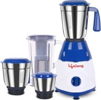 Lifelong Rapid LLMG78 750 W Juicer Mixer Grinder  (Blue, 4 Jars)
