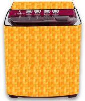 LooMantha Semi-Automatic Washing Machine  Cover(Orange)