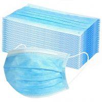 Nakoda Creation Disposable Surgical Air Polution Mask Face Mask,Medical and Surgical Disposable Face Mask with Non Woven,Elastic Ear-Loop Blue