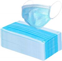 Disposable Air Pollution & Protection - 3 ply Mask Face Mask Nose Mask Dust Mask surgical mask with tie (pack of 10) | surgical mask-10
