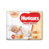 Huggies Ultra Soft New Born Diapers (22 Counts)
