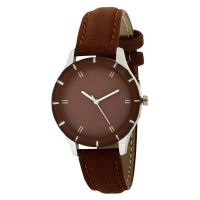 Generic Analog Brown Dial Watch For Girls - WN5223