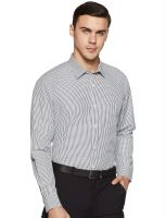 [Size 39] Symbol Men's Checkered Regular Fit Full Sleeve Formal Shirt