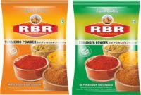 RBR Premium Spices-Turmeric Powder(Haldi), Coriander Powder(Dhaniya), 50g Each, (50g*2=100g)(2 x 50 g)