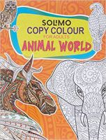 Amazon Brand - Solimo Copy Colour For Adults - Animal World