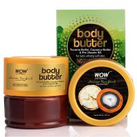 WOW Skin Science - Amazon Rainforest Collection - Rainforest Body Butter with Tucuma & Cupuacu Butter - No Paraben, Mineral Oil, Silicones & Color - 200 mL