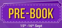 Pre-Book Store of Flipkart Big Saving Day Sale