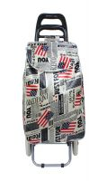 PAffy Foldable Shopping Trolley Bag (Flag) - 012T