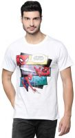 [Size S] Marvel X ZilingoPrinted Men Round Neck White T-Shirt