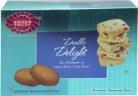 Karachi Bakery Double Delight Osmania and Fruit Biscuit(400 g)