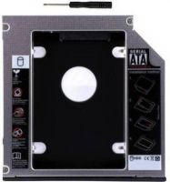 Flipkart SmartBuy 9.5mm Universal 2nd Hard Drive Bay Caddy For CD/DVD-ROM, Macbook PRO, Laptop 2.5 inch Internal Hard Drive Enclosure/HDD Caddy  (For Serial ATA/ Universal 2.5