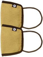 Fort Collins Unisex Cotton Face Mask (Pack of 2) (141_Mustard_One Size)