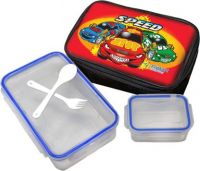 Flipkart SmartBuy Lock & Fit Small (800ml+125ml) with Bag, Folk & Spoon 1 Containers Lunch Box(925 ml)