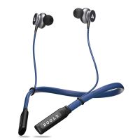 Boult Audio ProBass Curve Wireless Neckband Earphones with 12 Hour Battery Life & Latest Bluetooth 5.0, IPX5 Sweatproof Headphones with mic (Blue)