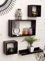 Home Sparkle Floating Wall Shelfs | Wooden Wall Shelves