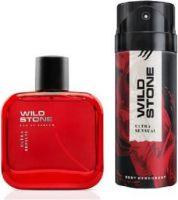 Wild Stone Ultra Sensual Perfume Deodorant Spray  -  For Men(275 ml, Pack of 2)