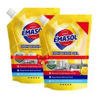Emami Emasol Dish Wash Gel 900 ml (Pack of 2)