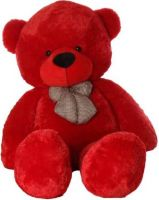 TedsTree 4 feet red cute and soft teddy hug able teddy anniversary gift  - 117.21 cm(Red)