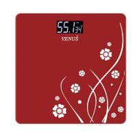 Venus EPS-2001 Electronic Bathroom Scale (Red)