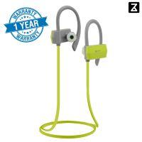 Zakk Sport in-Ear Bluetooth Wireless Earphone with Mic (Green)