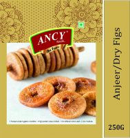 Ancy Premium Quality Sweet and Dried Fig Anjeer - Big Size 250g