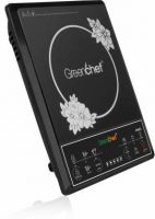 Greenchef MAXOB01 Induction Cooktop(Black, Push Button)
