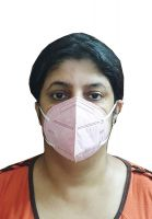 Woschmann-WSX KN95 Pollution Mask Good to Fight Air Pollution Bacteria(Pack of 10)-Pink