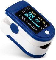 Homepro Oximeter Blood Oxygen Saturation Monitor Fingertip Oxygen Meter, O2 Saturation, Pulse Rate