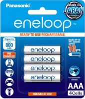 Panasonic eneloop AAA Rechargeable Battery, Pack of 4
