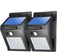 Solar Lights For Garden 100 LED Motion Sensor Security Lamp  (100 LED - Pack of 1) (2 Pice)