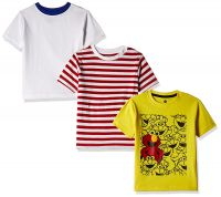 [Size 7 - 8YRS] Cloth Theory Boys' T-Shirt (Pack of 3)