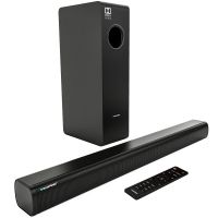 Blaupunkt Germany's SBW-04 200W Wired Dolby Soundbar with Subwoofer, Bluetooth and HDMI Arc